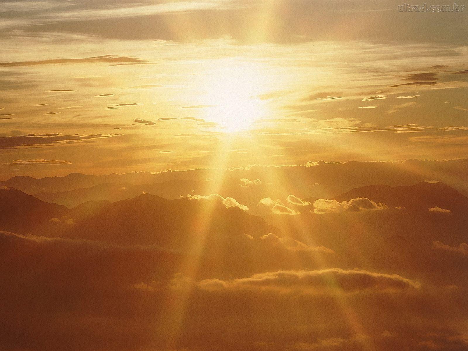 102485 Papel de Parede Sol Radiante