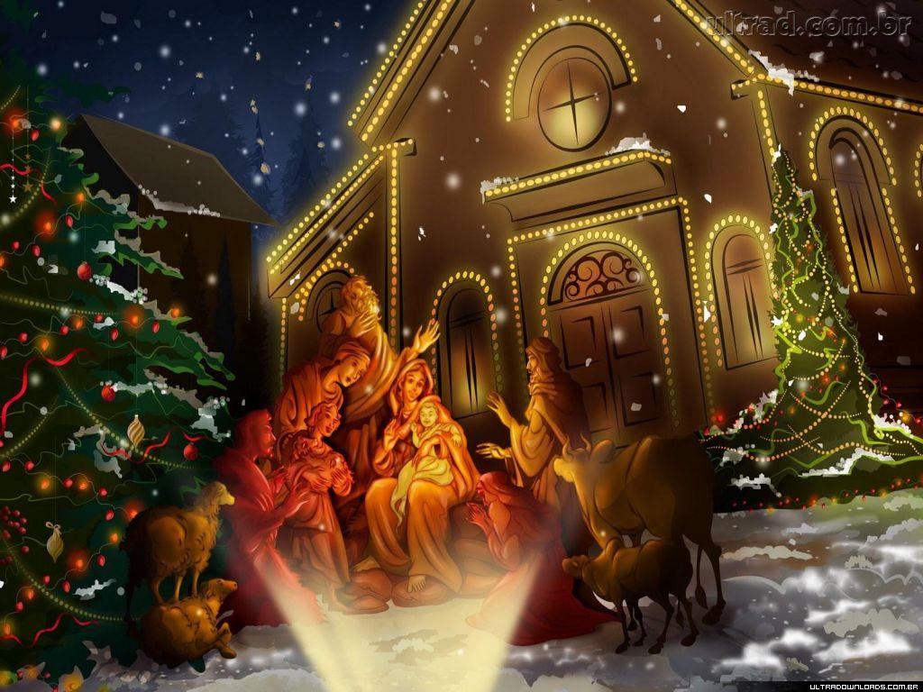 56158 Papel de Parede Natal e Ano Novo