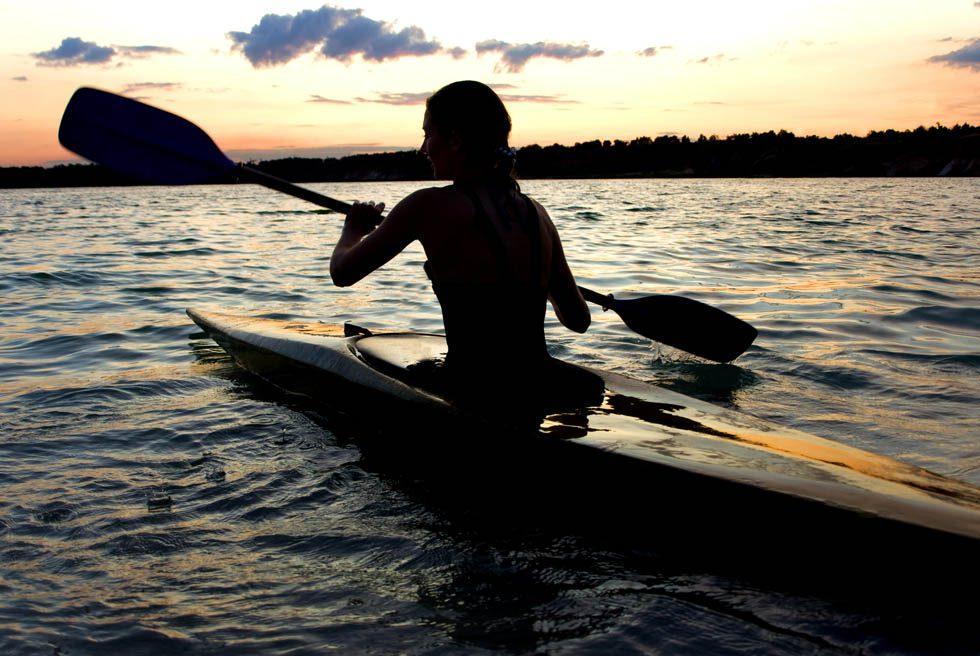 aproveite vida viver aventura kayak