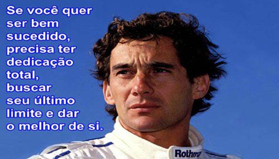 Não Importa O Que Você Seja Quem Ayrton Senna: Ayrton Senna