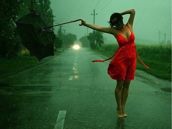 dançar na chuva