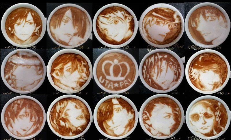 latte coffee art kazuki yamamoto george 10g twitter 17