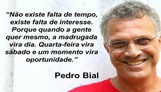 Top 10 Frases Pedro Bial