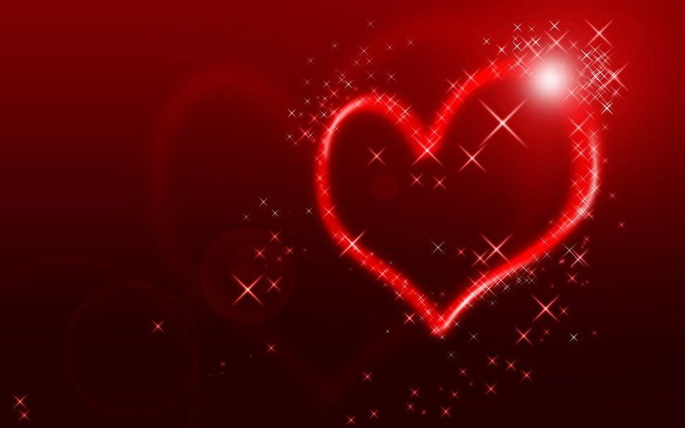 702422 heart sparkle star love p