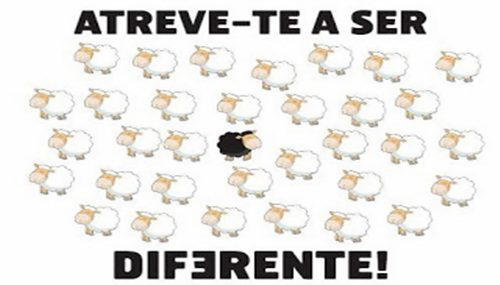 atreve-te a ser diferente
