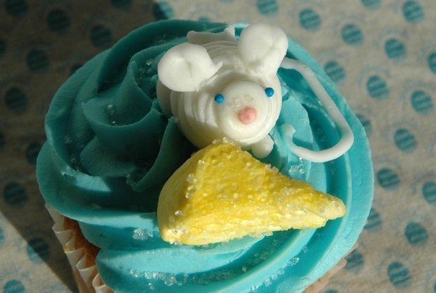 Este rato e seu queijo.