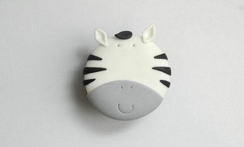 Esta zebra simples.