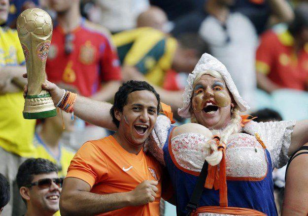 4° lugar: Holanda - uma holandesa caricata.