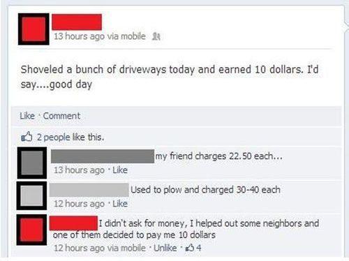 O dia duro de trabalho desse cara:
