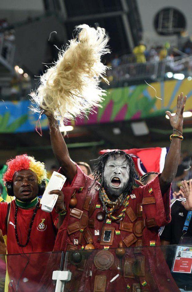 7° lugar: este cara que é uma poderosa entidade africana.