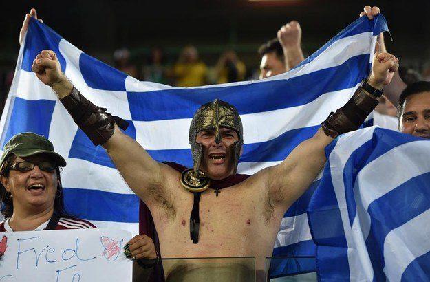 5° lugar: Grécia - um gladiador.