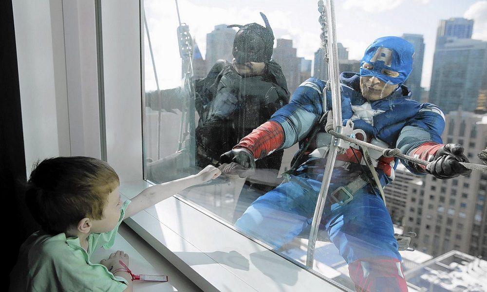 super herois criancas in