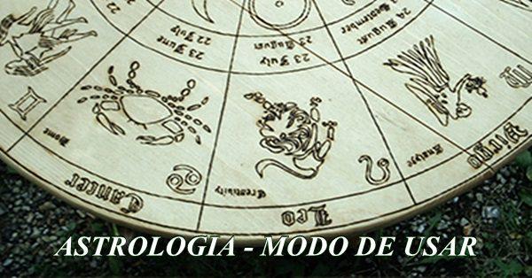 astrologia modo de usar