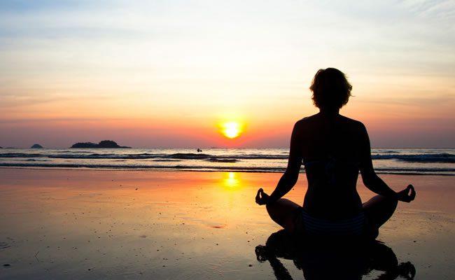 metas saudáveis meditação