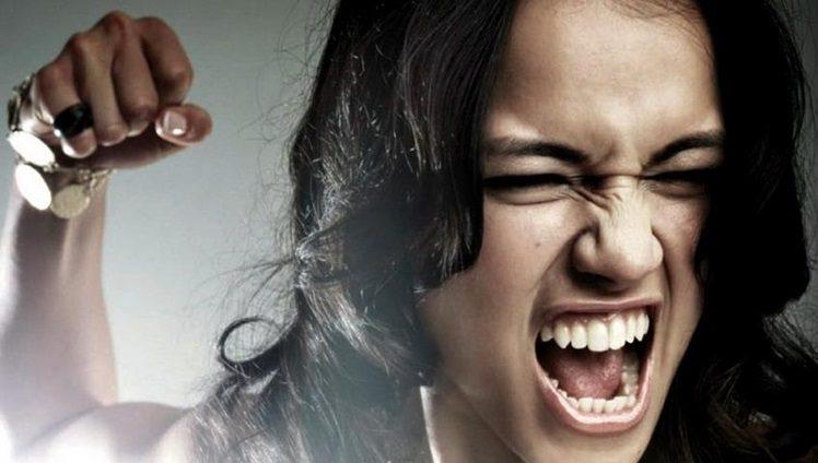 mulher brava