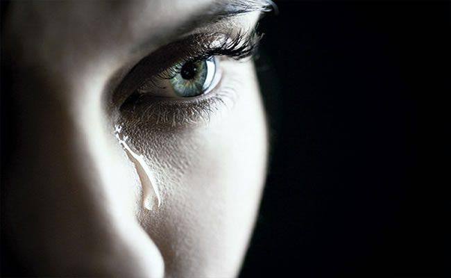 não é por você que eu choro