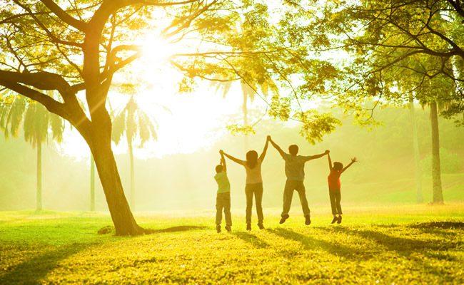 5 coisas que famílias felizes