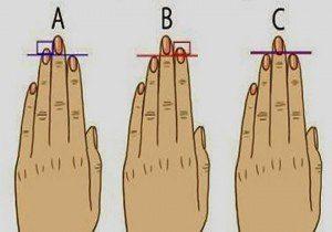 é isso que o comprimento do seu dedo anelar revela sobre2