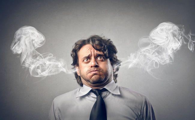 10 sinais de estresse que você provavelmente