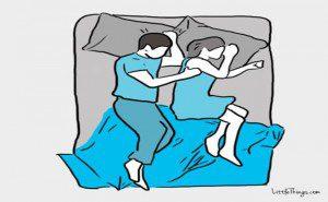 adultoa maneira como você dorme com o seu3
