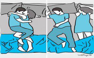 adultoa maneira como você dorme com o seu6