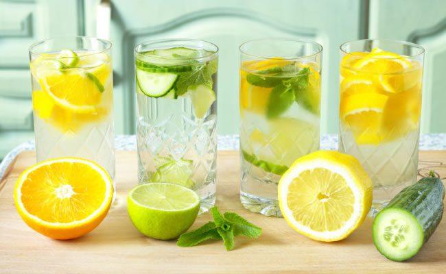 dizem que beber limão com água de manhã