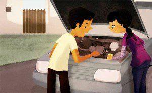 este artista belamente ilustrou como é o amor3