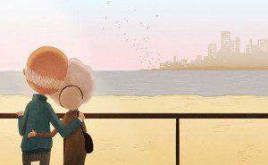 este artista belamente ilustrou como é o amor8