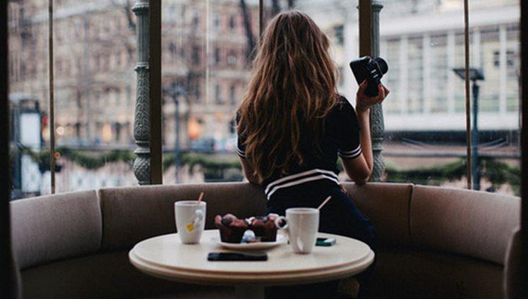 alone coffee girl hair Favim.com 2659992