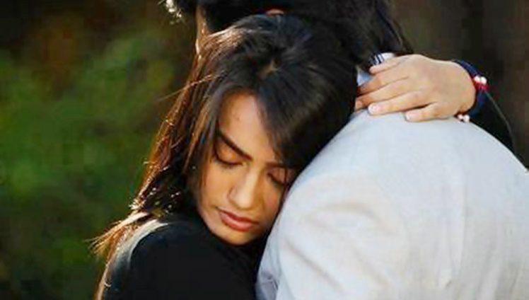 Hug Punjabi Couple2