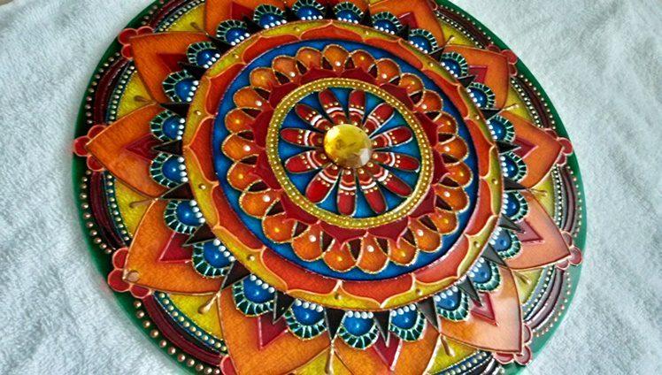 mandala joia do tibet tibetana