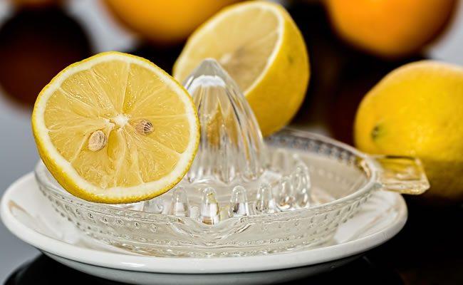 suco de limão com sal pode parar