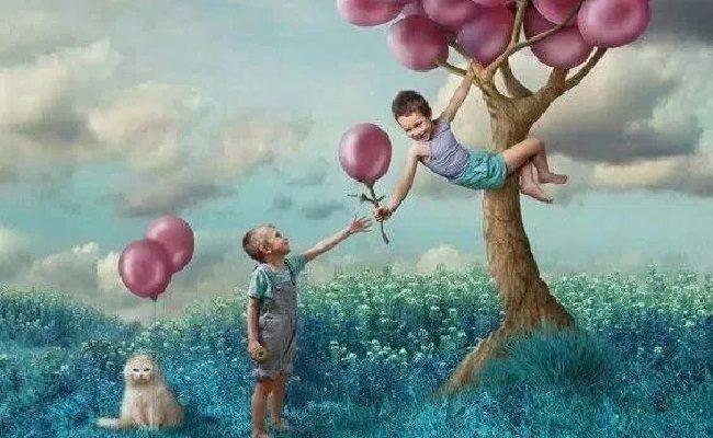 uma criança feliz é