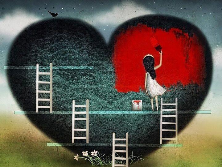 viver com o coração partido é respirar com2