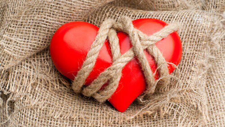 coração preso