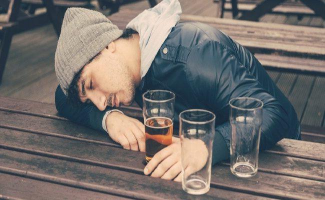 se você bebe álcool