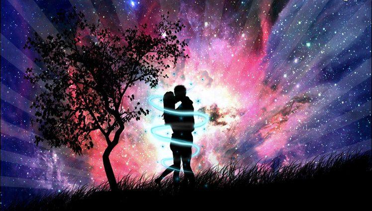 silhouette-of-couple,-hug,-kiss,-universe,-digital-art-151893
