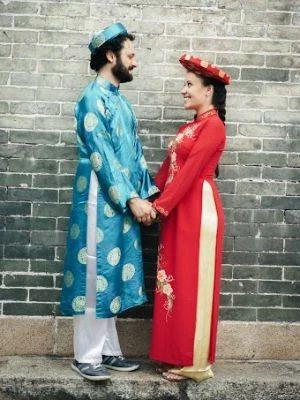 Casamento no Vietnã foi organizado às pressas (Foto: Thường Việt Huỳnh/Viajei Bonito)