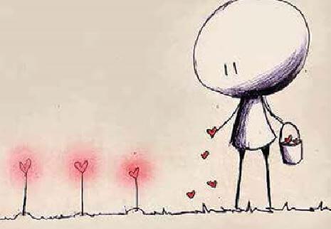 plantando-corações
