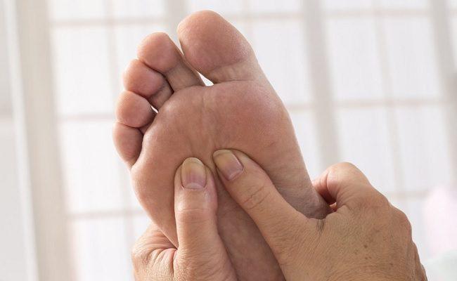 o que seus pés