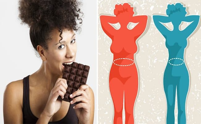 comer chocolate pela