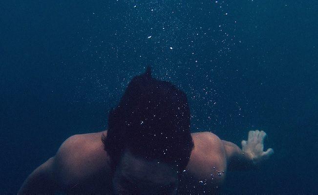 como a natação