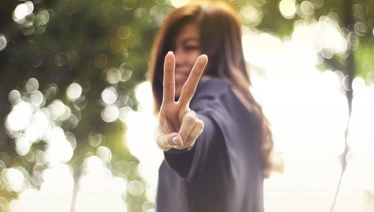 Chega um momento que tudo o que mais desejamos na vida é paz...