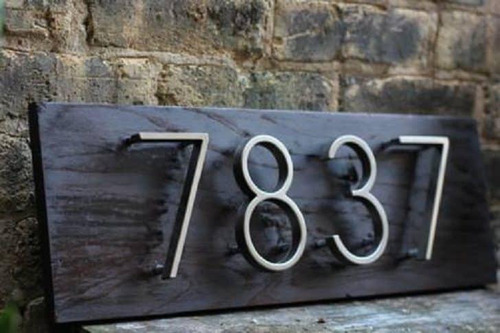 Qual o significado do número de sua casa 1