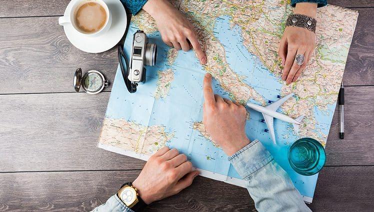 Viajar é uma forma de trazer leveza para a alma