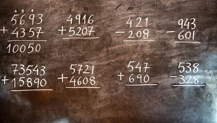 A sabedoria e os números