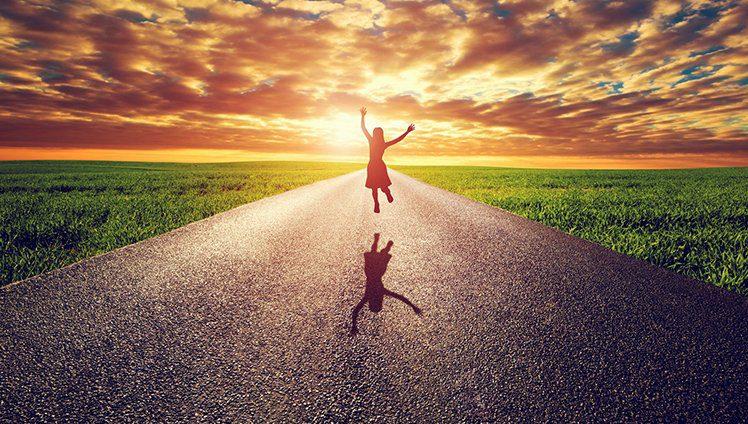 Não é preciso ir tão longe para ser feliz...