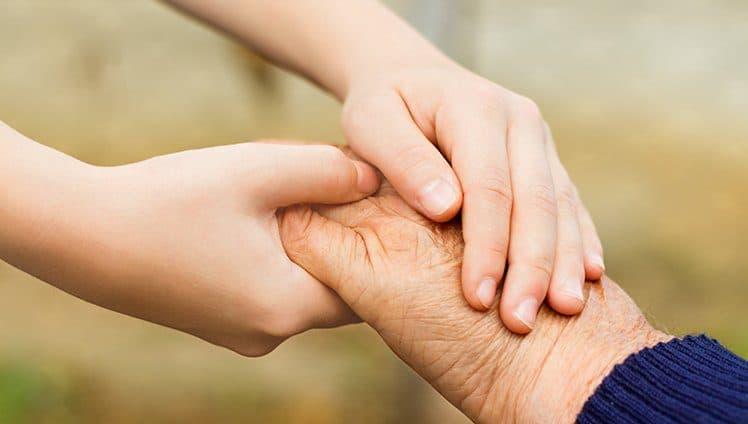 Quem tem o coração grande demais deixa transbordar a bondade