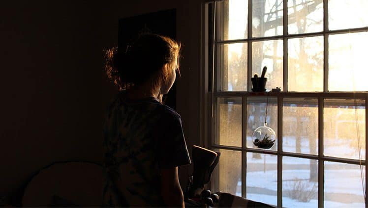 Queria que o mundo fosse visto muito além da janela de cada quarto...