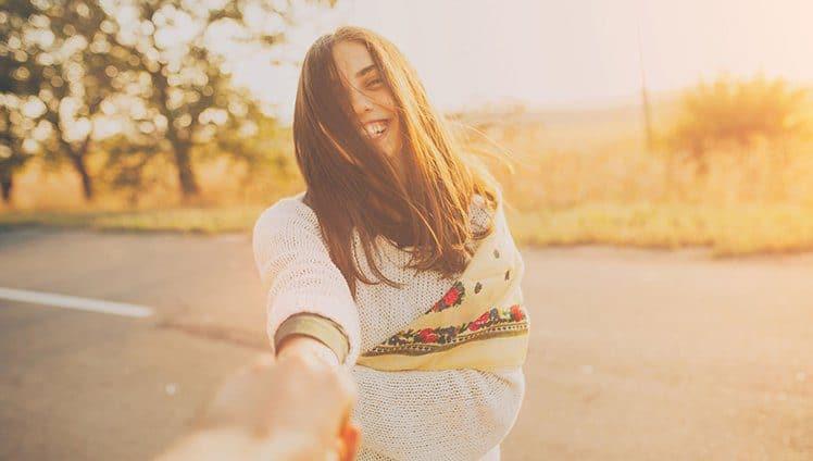Sua felicidade anda por aí…